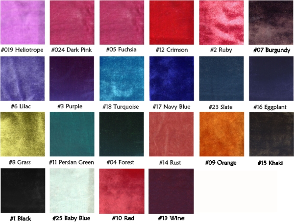 Velvet Color 28 Images Velvet Cake Color Palette Modern Grey Velvet Upholstery Fabric For